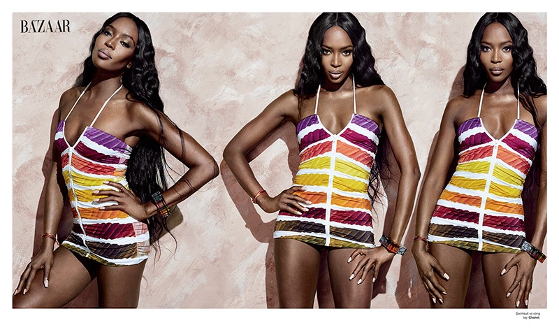 naomi campbell 2014 photo shoot6 Naomi Campbell Stuns in Bazaar Vietnam Shoot by An Le