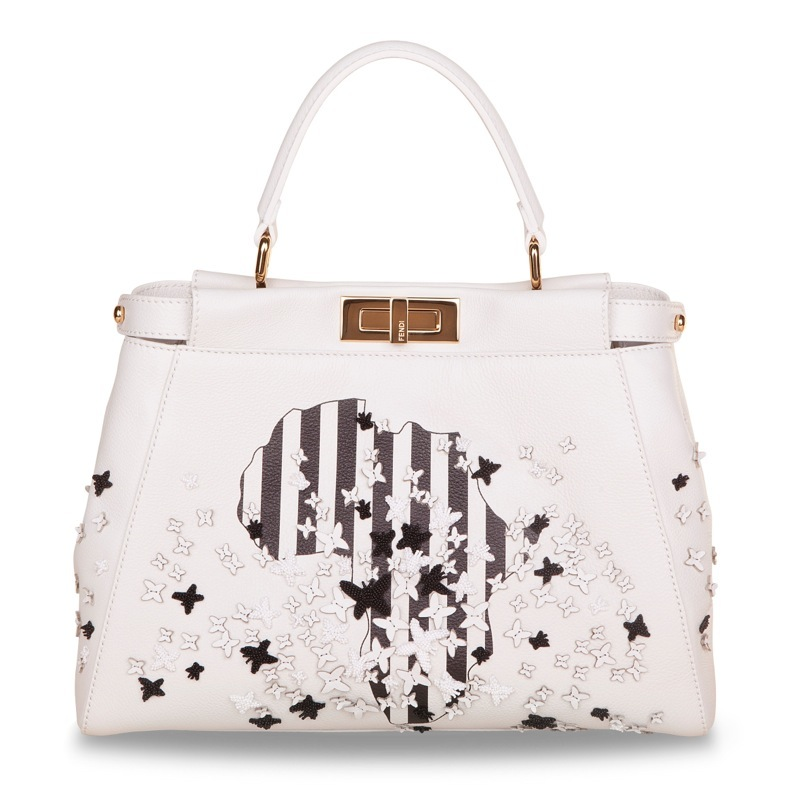 naomie harris fendi Fendi Taps Adele, Cara Delevingne + More to Design Peekaboo Bags for Charity