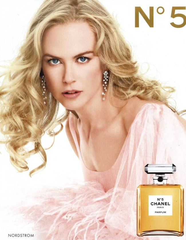 TBT | Five Chanel No. 5 Campaigns - From Brad Pitt to Nicole Kidman