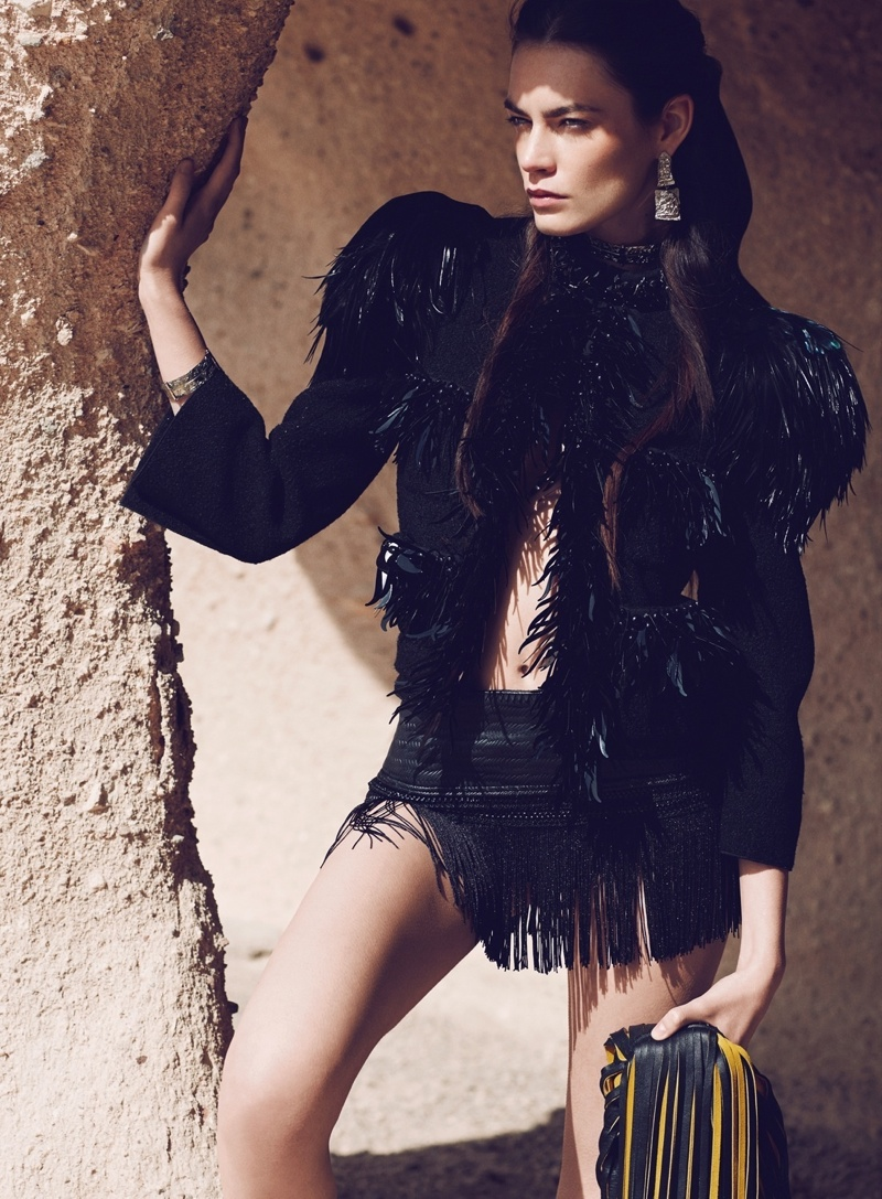 nomad fashion emre guven6 Patrycja Gardygajlo Dons Nomadic Fashion in Vogue Turkey by Emre Guven