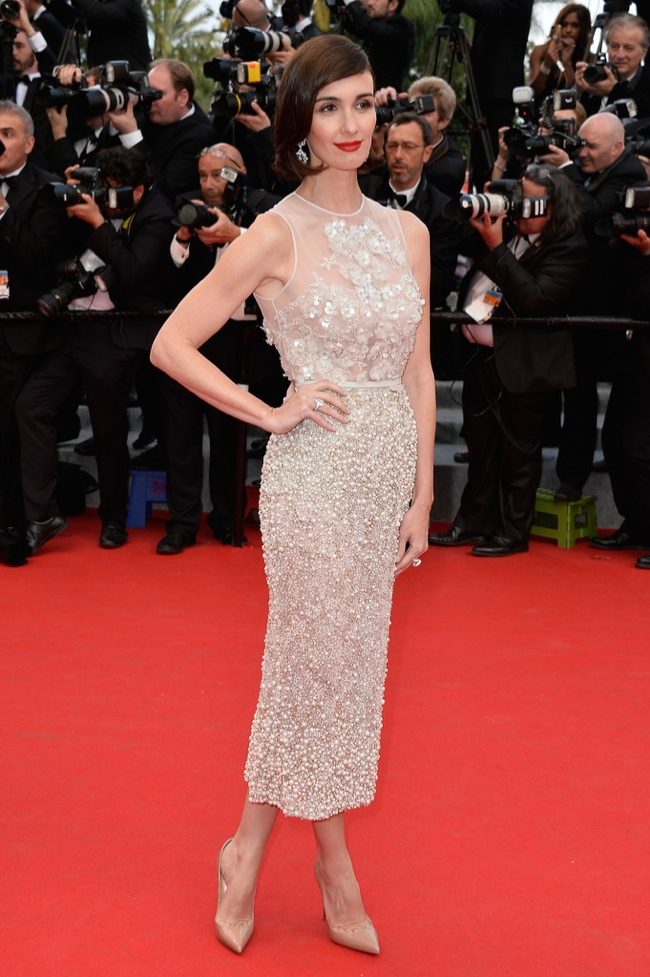 Paz Vega stepped out in Elie Saab