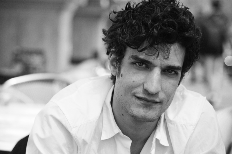 peter lindbergh roman holiday05 Caroline Trentini + Louis Garrel Get Romantic for Vogue Shoot by Peter Lindbergh