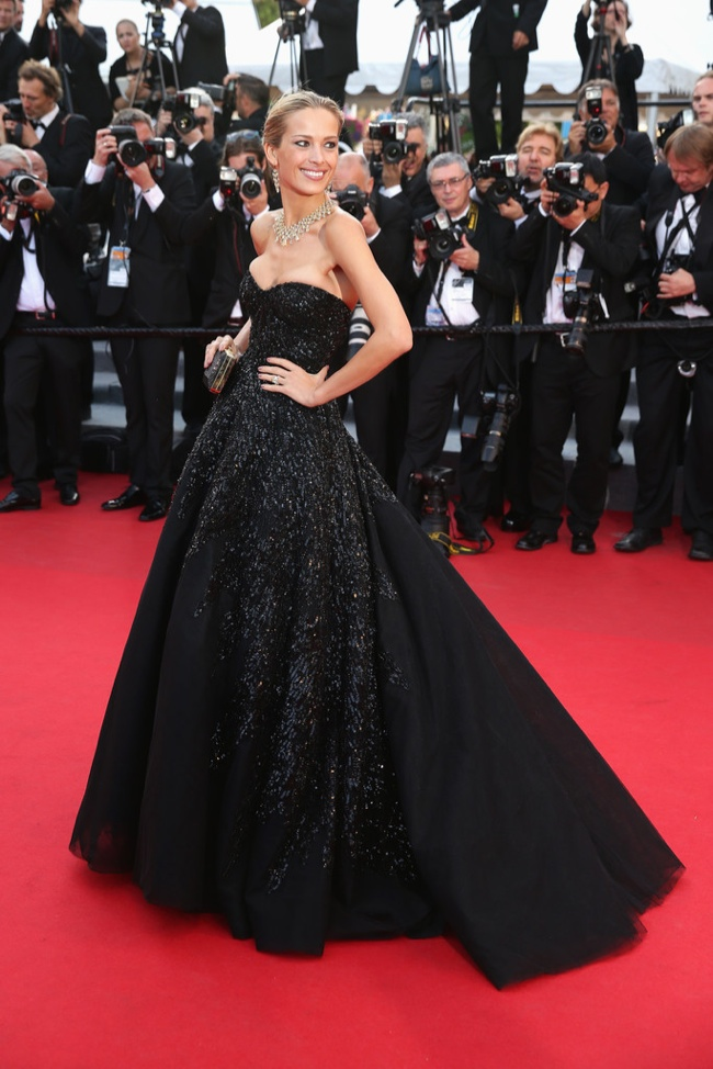 Petra Nemcova impressed in a Zuhair Murad gown