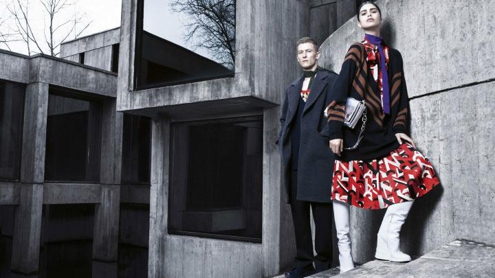 Mica Arganaraz is the Star of Prada's Fall 2014 Campaign