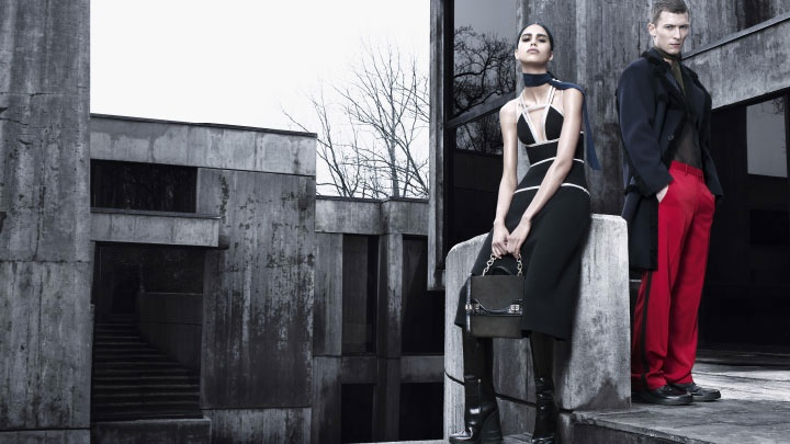 prada fall winter 2014 campaign photos3 Mica Arganaraz is the Star of Pradas Fall 2014 Campaign
