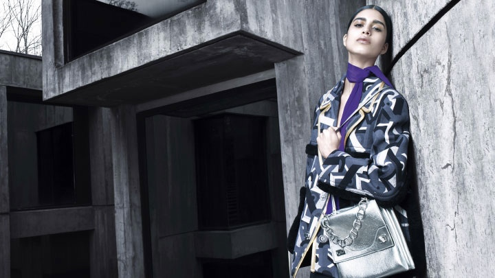 prada fall winter 2014 campaign photos5 Mica Arganaraz is the Star of Pradas Fall 2014 Campaign