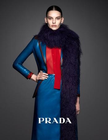 Amanda Murphy Stars in Pradasphere Campaign by Ishi