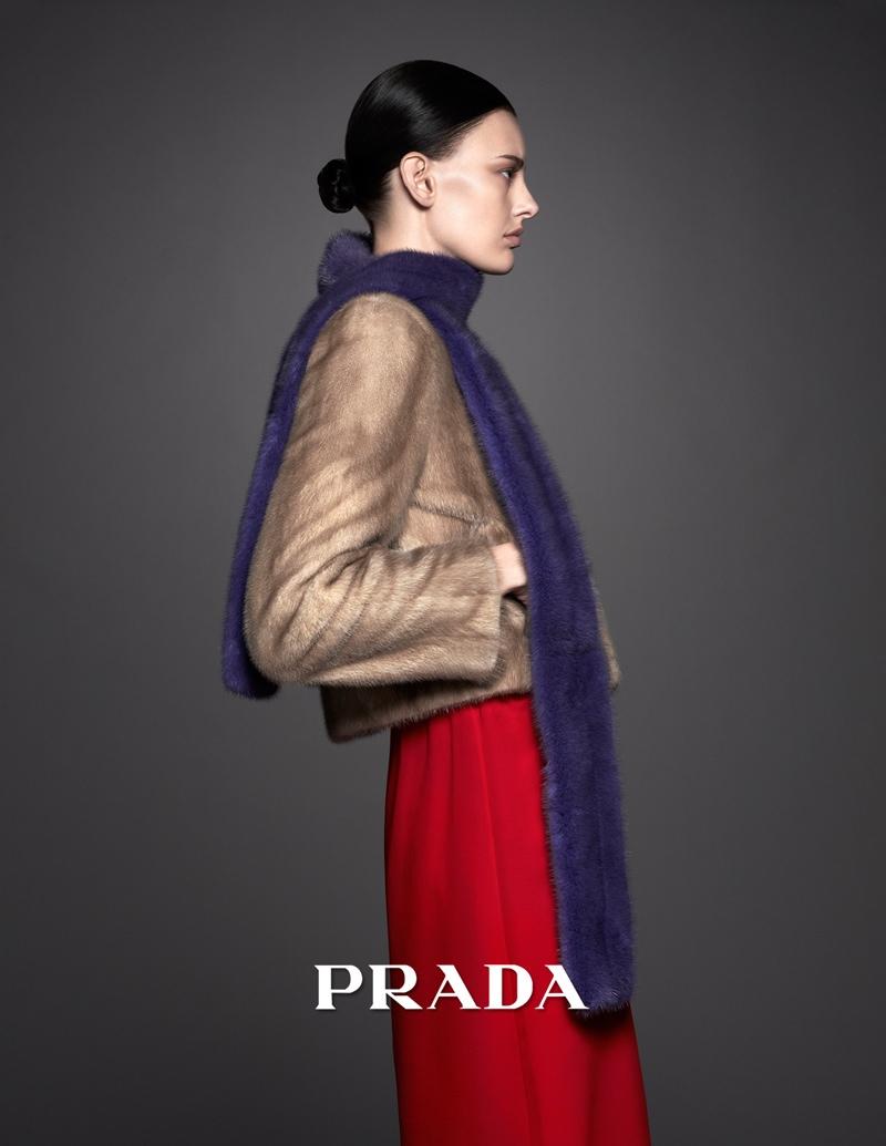 pradasphere campaign ishi2 Amanda Murphy Stars in Pradasphere Campaign by Ishi