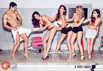 The Girls of Pretty Little Liars Wear Bikini Styles for GQ Shoot