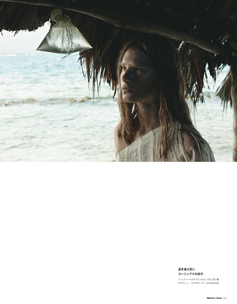 querelle jansen 2014 3 Fashion Survivor: Querelle Jansen Gets Shipwrecked for Numero Tokyo