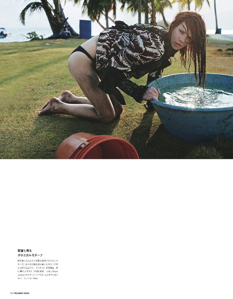 querelle jansen 2014 8 Fashion Survivor: Querelle Jansen Gets Shipwrecked for Numero Tokyo
