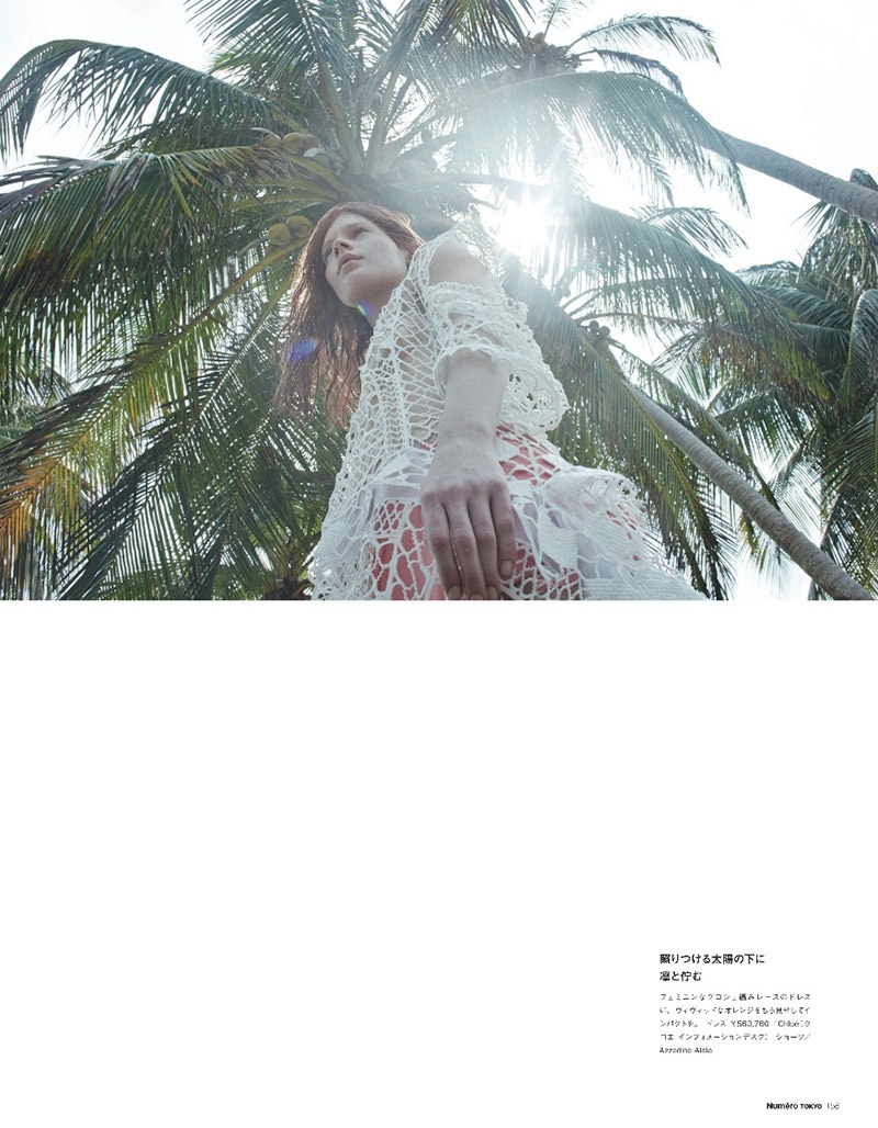 querelle jansen 2014 9 Fashion Survivor: Querelle Jansen Gets Shipwrecked for Numero Tokyo