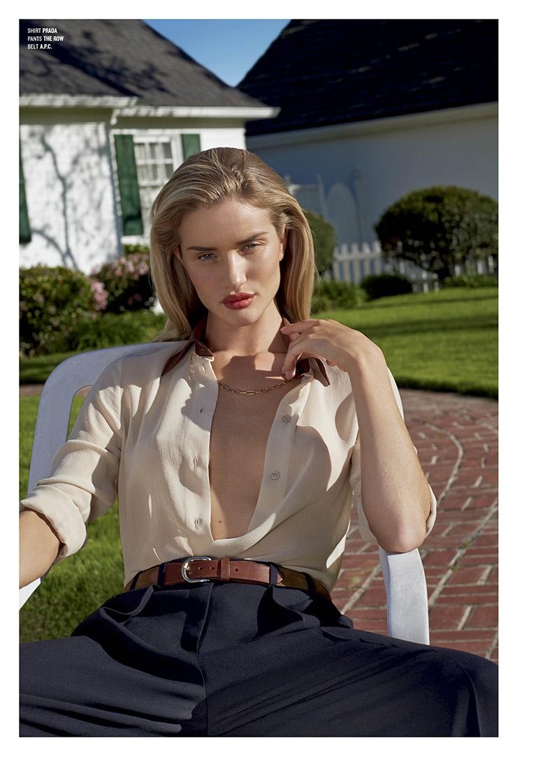 Rosie Huntington-Whiteley for V Magazine Summer 2014