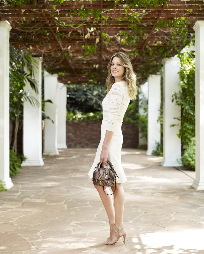 salvatore ferragamo fiamma handbag3 Salvatore Ferragamo Launches Fiamma Handbag with Langley Fox, Mariel Hemingway + More