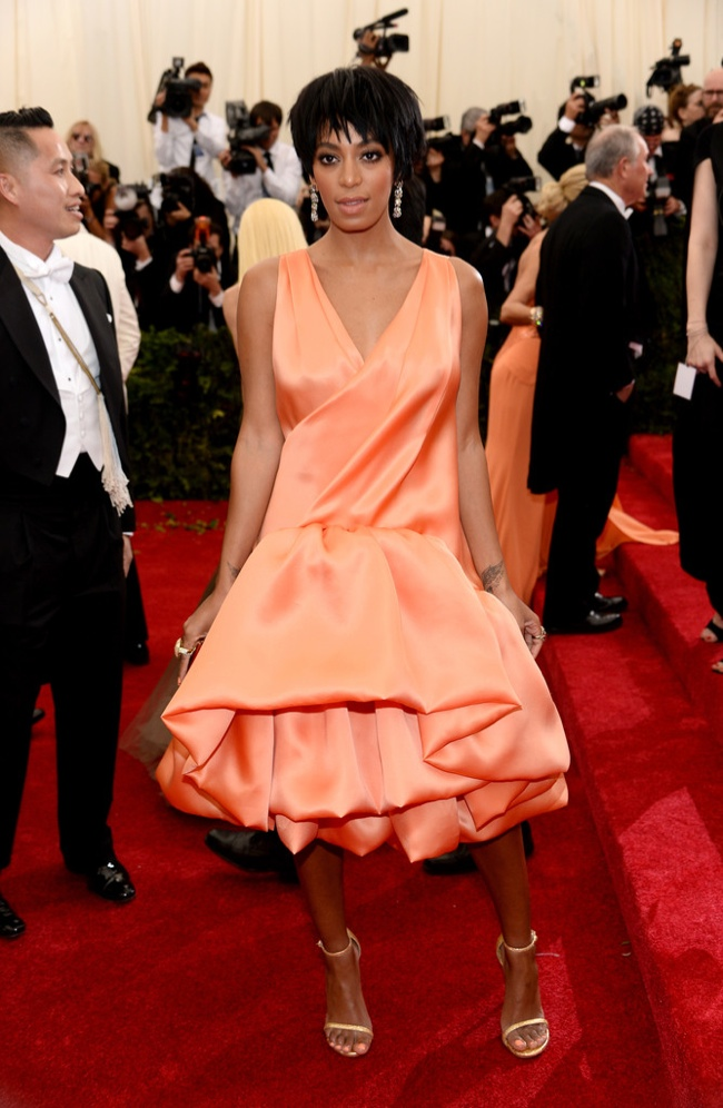 solange knowles phillip lim met gala 2014 Met Gala Red Carpet Looks
