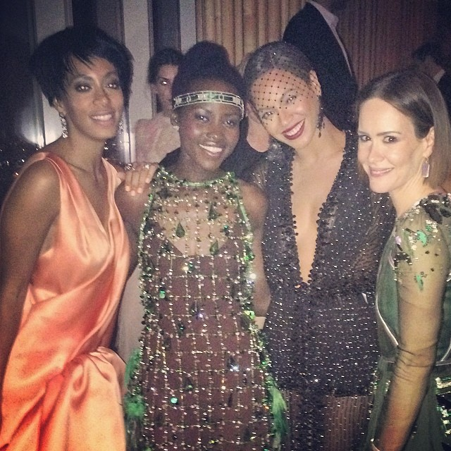 solange lupita beyonce sarah The Best Instagram Shots from Last Nights Met Gala