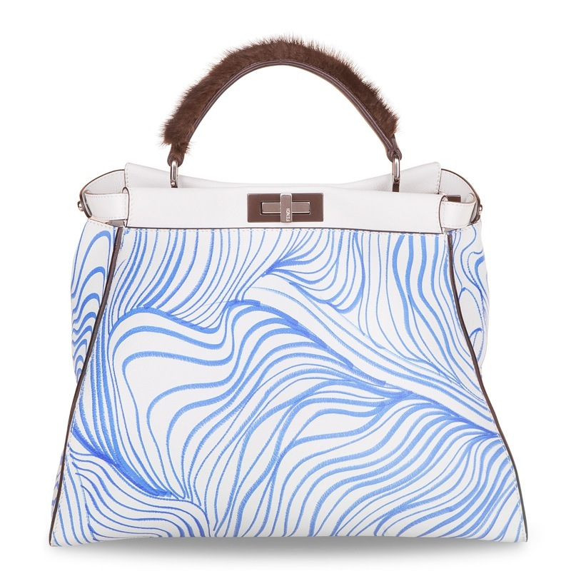 tanya ling fendi Fendi Taps Adele, Cara Delevingne + More to Design Peekaboo Bags for Charity