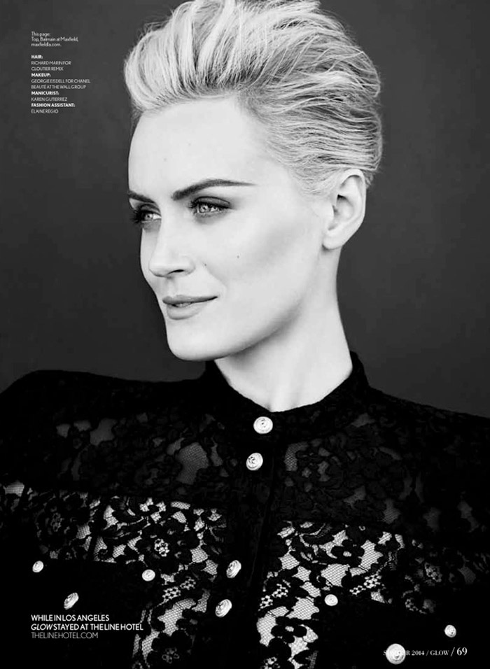 taylor schilling photos3 OITNB Star Taylor Schilling Gets Glam for Glow Shoot by Chris Nicholls