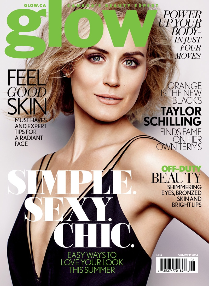 taylor schilling photos4 OITNB Star Taylor Schilling Gets Glam for Glow Shoot by Chris Nicholls