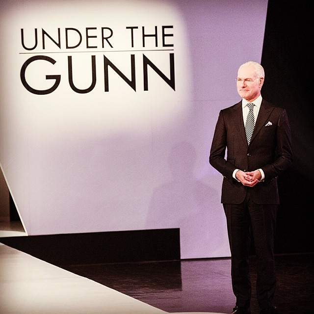 Photo: Tim Gunn from Project Runway Instagram