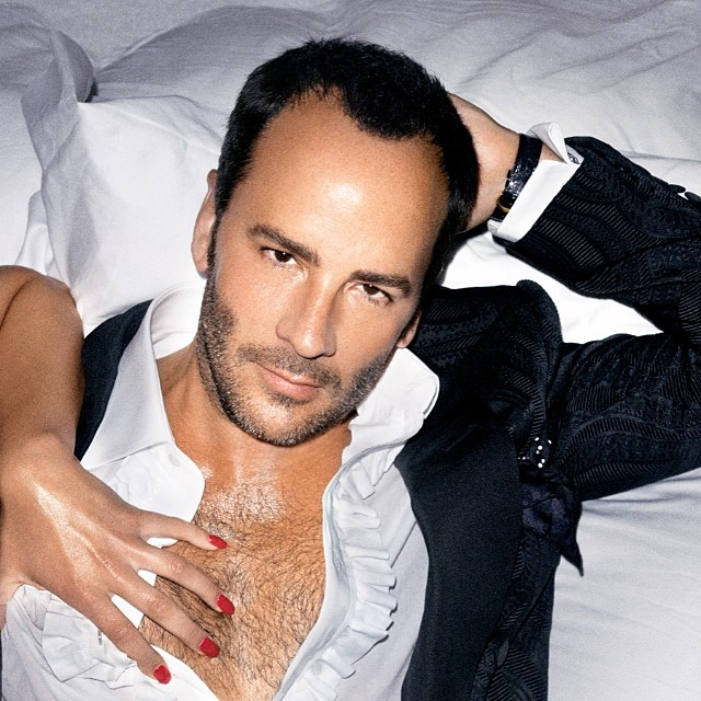 Image: Tom Ford for Men Campaign. Photo from Instagram