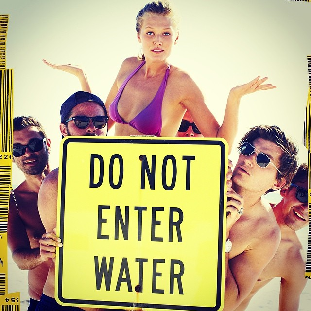 toni guys Instagram Photos of the Week | Kate Moss, Christy Turlington + More Models