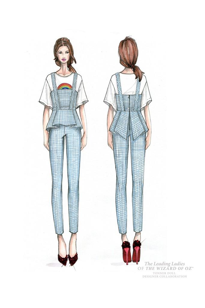 Dorothy Gal reimagined by Trina Turk