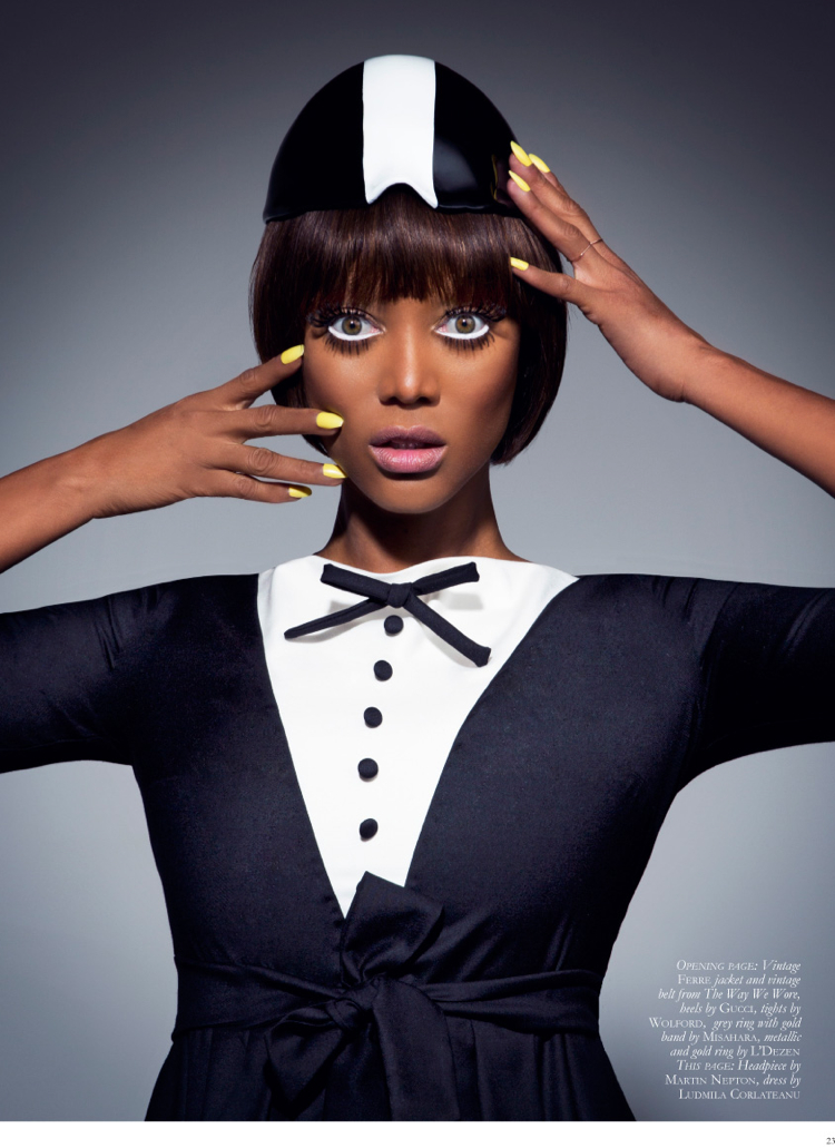 tyra banks black magazine photo 003 Tyra Banks Covers Black Magazine, Talks ANTM + Beauty