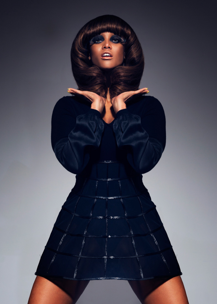 tyra banks black magazine photo 006 Tyra Banks Covers Black Magazine, Talks ANTM + Beauty