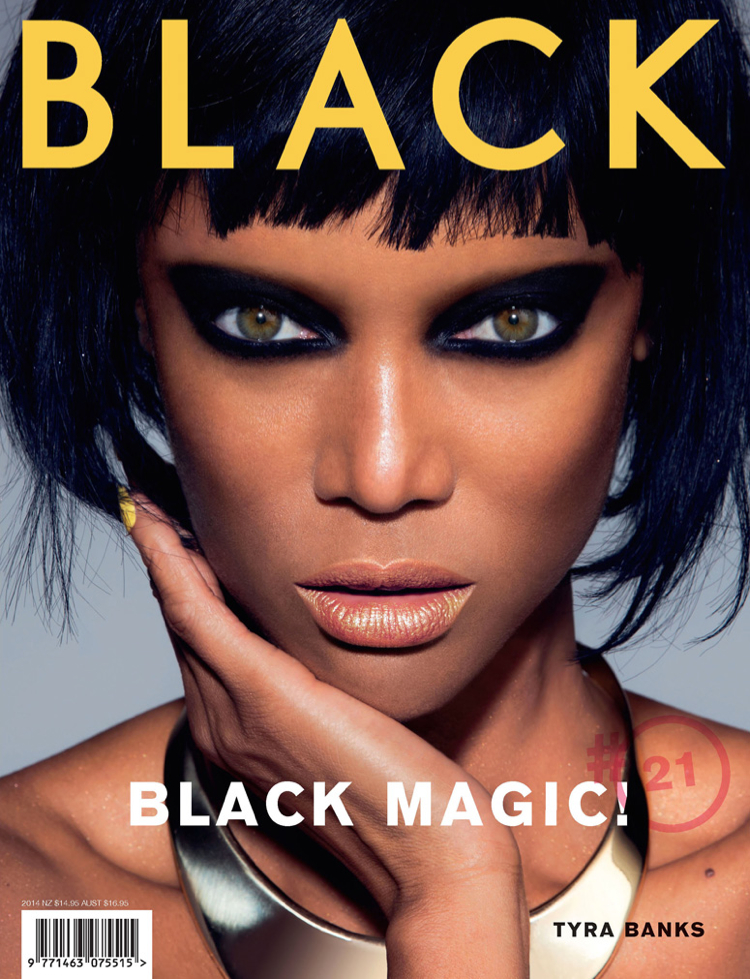 tyra banks black magazine photo 010 Tyra Banks Covers Black Magazine, Talks ANTM + Beauty