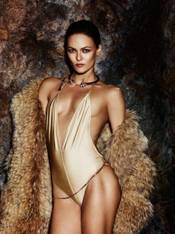 Vanessa Paradis Channels Her Inner Vixen for Violet Grey Shoot