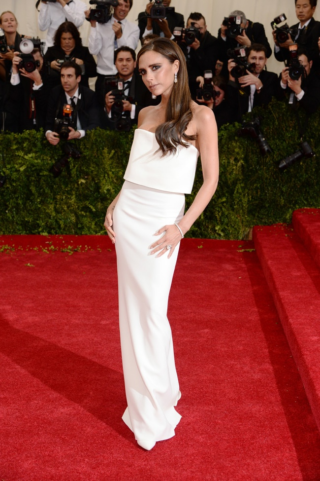 victoria beckham 2014 met gala 2014 Met Gala Red Carpet Looks