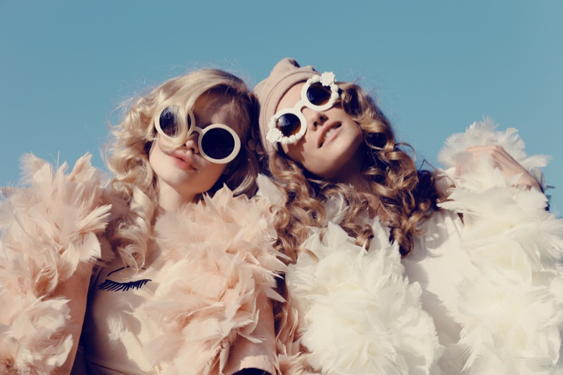 wildfox couture summer 2014 collection12 Queeny + Camilla Star in Wildfox's Dreamy Summer 14  Shoot by Mark Hunter