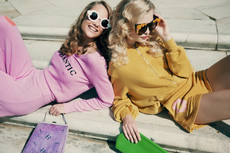 wildfox couture summer 2014 collection2 Queeny + Camilla Star in Wildfox's Dreamy Summer 14  Shoot by Mark Hunter