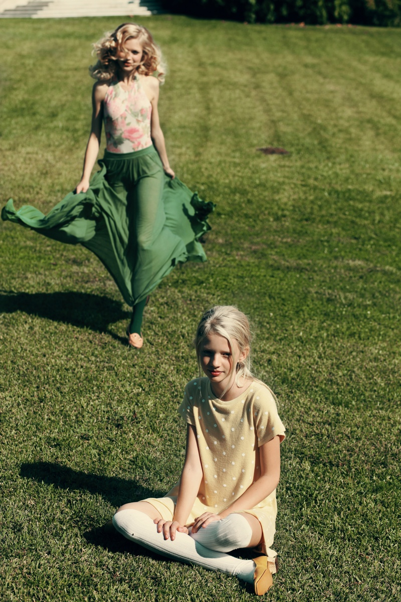 wildfox couture summer 2014 collection3 Queeny + Camilla Star in Wildfox's Dreamy Summer 14  Shoot by Mark Hunter
