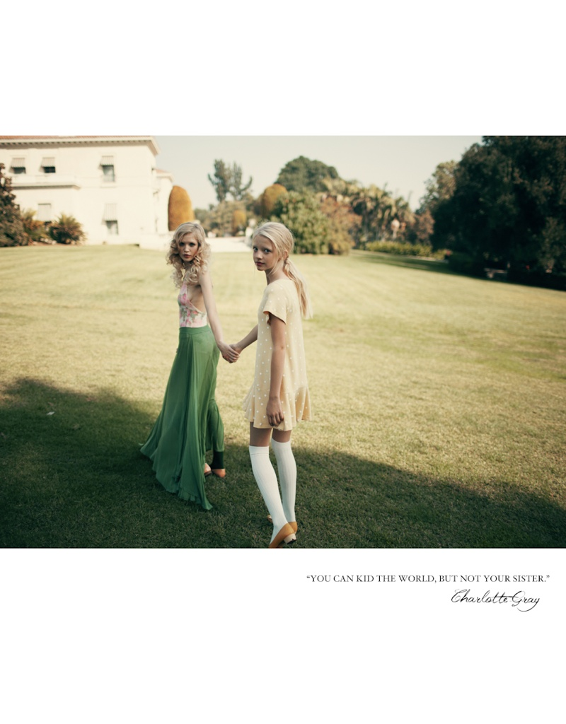 wildfox couture summer 2014 collection4 Queeny + Camilla Star in Wildfox's Dreamy Summer 14  Shoot by Mark Hunter
