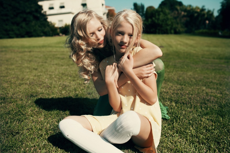 wildfox couture summer 2014 collection5 Queeny + Camilla Star in Wildfox's Dreamy Summer 14  Shoot by Mark Hunter