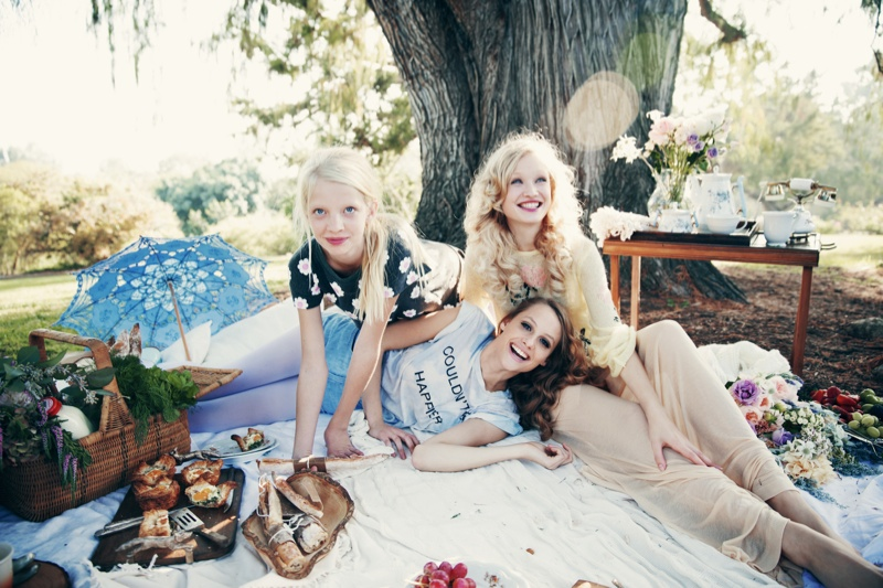 wildfox couture summer 2014 collection7 Queeny + Camilla Star in Wildfox's Dreamy Summer 14  Shoot by Mark Hunter