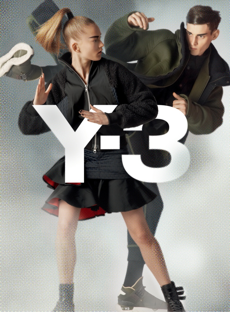 y3 fall winter 2014 campaign 2 Y 3 Launches Fall Superhero Inspired Campaign
