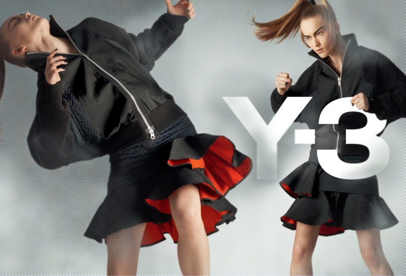 y3 fall winter 2014 campaign 3 Y 3 Launches Fall Superhero Inspired Campaign