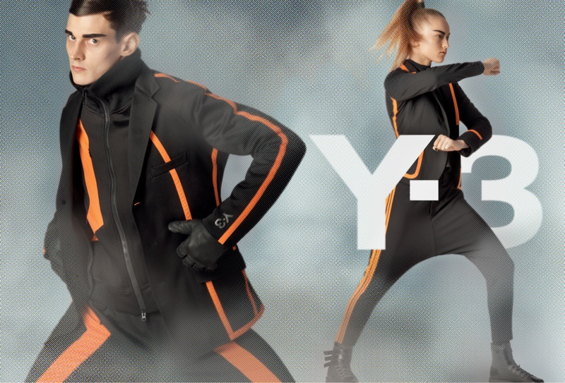 y3 fall winter 2014 campaign 4 Y 3 Launches Fall Superhero Inspired Campaign