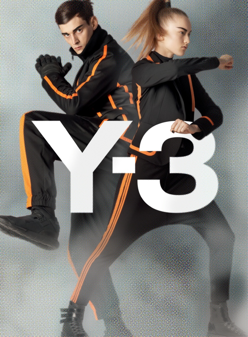 y3 fall winter 2014 campaign 5 Y 3 Launches Fall Superhero Inspired Campaign