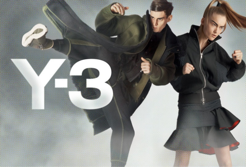 y3 fall winter 2014 campaign 6 Y 3 Launches Fall Superhero Inspired Campaign