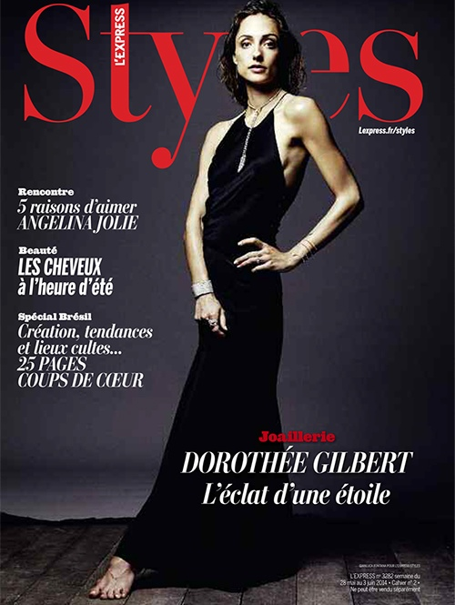 Dorothee Gilbert Dancer Photos9 Dancer Dorothee Gilbert Poses for Gianluca Fontana in L'Express Styles