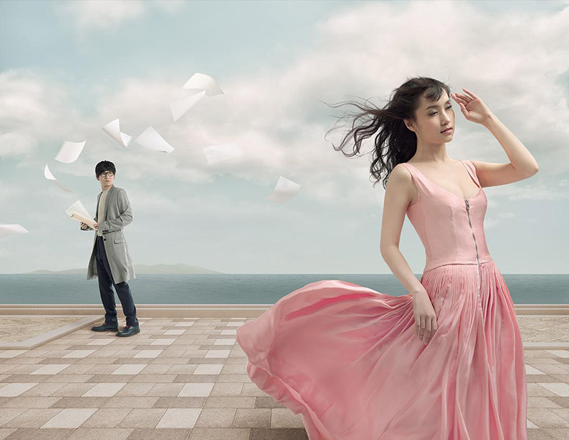 Miss Dior Shanghai Exhibit1 Miss Dior Exhibition Features Stunning Photos From New Artist Liu Lijie