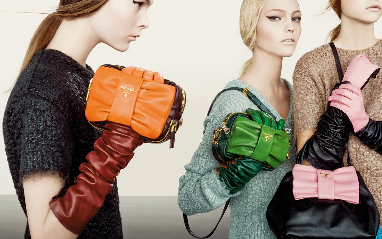 Prada Fall/Winter 2007 Campaign with Sasha Pivovarova