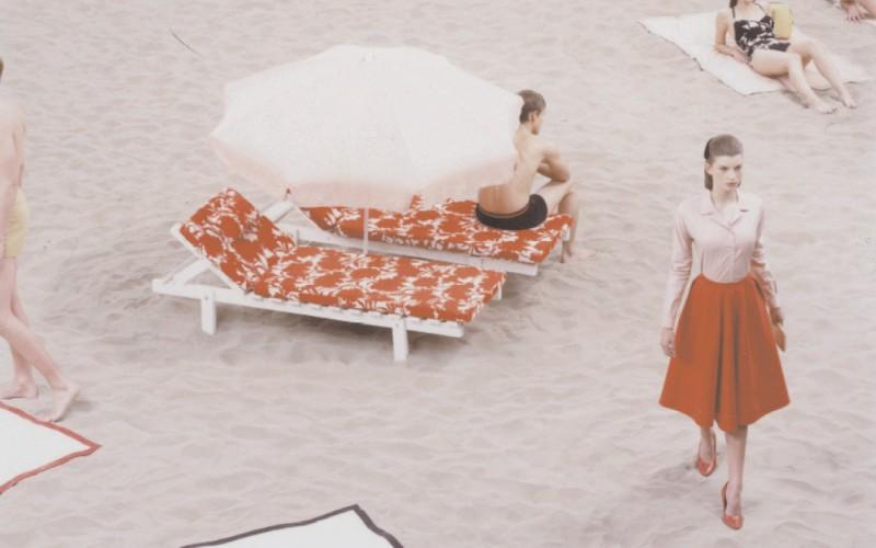 Prada Spring/Summer 2001 Campaign with Luca Gadjus