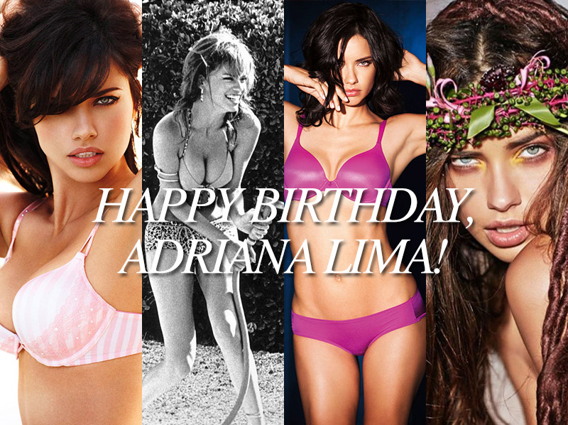 adriana lima birthday roundup1 Happy Birthday, Adriana Lima! The Hottest Photos of the Model for TBT