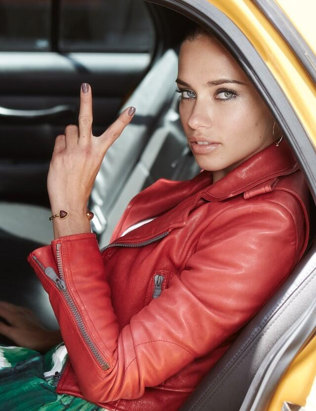 """Adriana Lima Returns as the Face of Maybelline, Says it's a """"Dream Come True"""""""