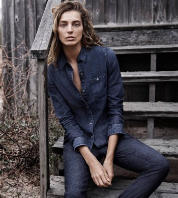 Daria Werbowy Tapped for AG Jeans' Fall 2014 Campaign